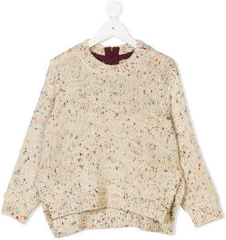 Stella McCartney Speckled Chunky Knit Jumper