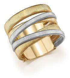 Marco Bicego 18K White & Yellow Gold Masai Five-Strand Crossover Ring