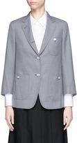 Thom Browne Button back twill blazer