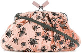 Jamin Puech embellished bugs clutch