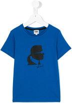 Karl Lagerfeld printed T-shirt - kids - Cotton - 2 yrs