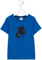 Karl Lagerfeld printed T-shirt - kids - Cotton - 6 yrs