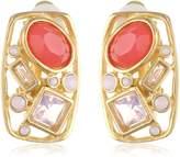 """T Tahari South Beach"""" Clip Earrings"""