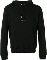 Saint Laurent branded hoodie - men - Cotton - XL