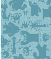 York Wall Coverings York wallcoverings Disney / Pixar Monsters, Inc. Graphic Removable Wallpaper