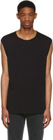 BLK DNM Black Relaxed Muscle 57 T-shirt