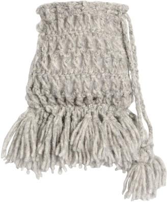 Alanui Alpaca Blend Knit Pouch Bag
