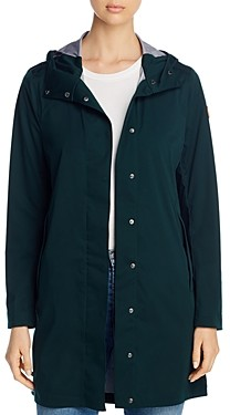 Save The Duck Mid-Length Hooded Coat