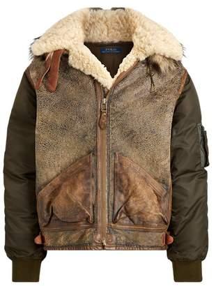 Ralph Lauren Hybrid Bomber Jacket