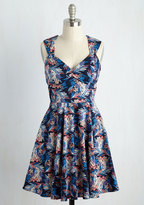 Ixia Flare Maiden Floral Dress in Bloom