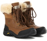 UGG Adirondack II fur-trimmed leather boots