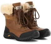 UGG Adirondack II fur-trimmed leather boots
