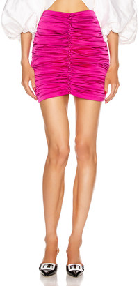 retrofete Ina Skirt in Hot Pink | FWRD