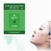 Natural Beauty Aloe Essence Full Face Mask 100 Pcs (1 box)
