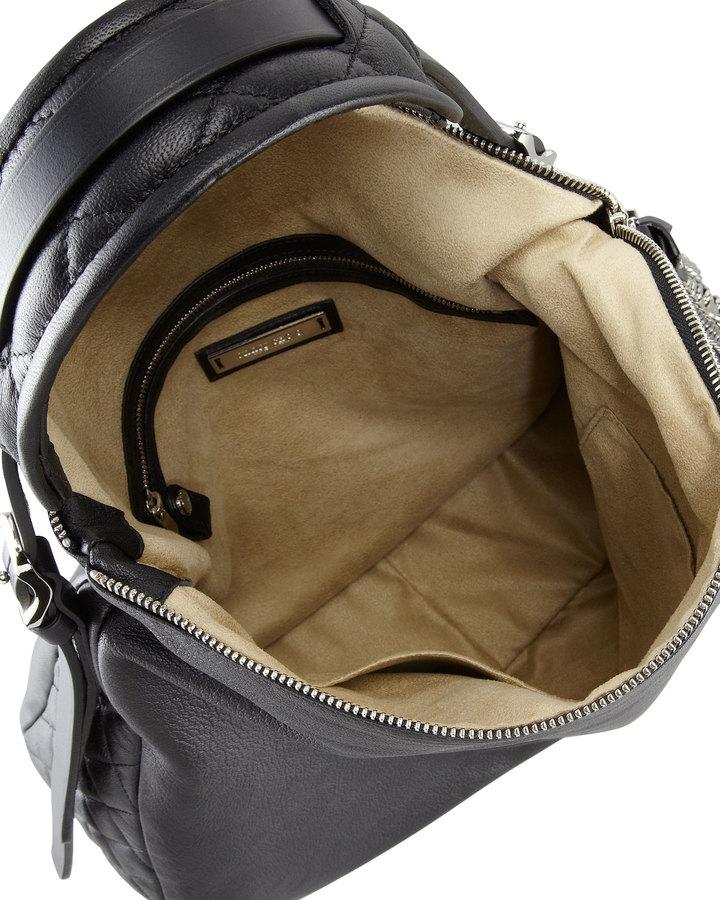 Jimmy Choo Boho Biker Hobo Bag, Black