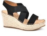 White Mountain Pull On Wedge Sandals - Voyage