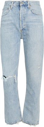 AGOLDE Riley High-Rise Cropped Jeans
