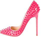 Christian Louboutin Pigalle Spiked Pointed-Toe Pumps