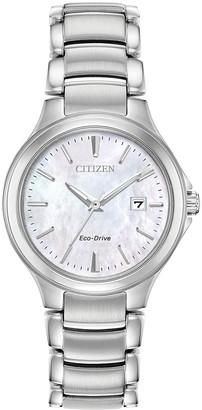 Citizen Women's Standard Stainless Steel Eco-Drive Watch, 30mm