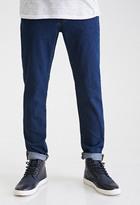 Forever 21 Sanded Dark Wash - Skinny Jeans