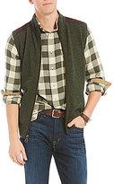 Daniel Cremieux Tweed Full-Zip Vest