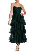 Cynthia Rowley Layered Ruffle Dress