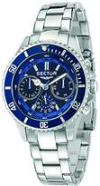 Sector Men's Multifunzione 230 39mm Steel Bracelet & Case Quartz Dial Analog Watch R3253161009