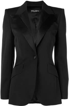 Dolce & Gabbana fitted waist jacket