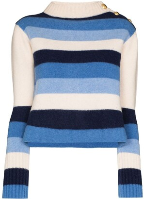 Wales Bonner Stripe-Pattern Knit Jumper