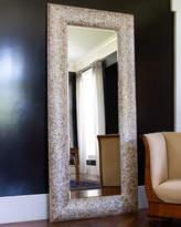 Interlude Mother-of-Pearl Floor Mirror