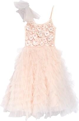 Tutu Du Monde En Rose Embellished Tutu Dress