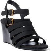 Ralph Lauren Aleigh Nubuck Wedge Sandal