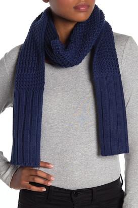 UGG Textured Wool Blend Scarf