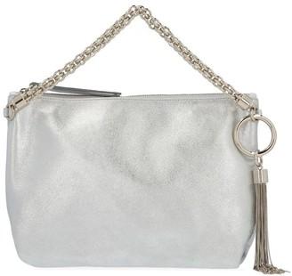 Jimmy Choo Callie Metallic Clutch Bag