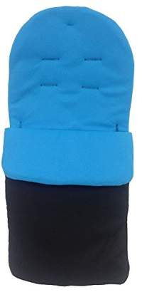 O Baby Footmuff/Cosy Toes Compatible with Obaby Atlas Chase Zezu Tour Monty Twin Pram Turquoise