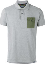 Woolrich contrast pocket polo shirt