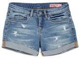 Blank NYC BLANKNYC Girls' Distressed Denim Shorts - Sizes 7-16