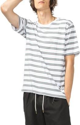 Barney Cools B.Thankful Stripe T-Shirt