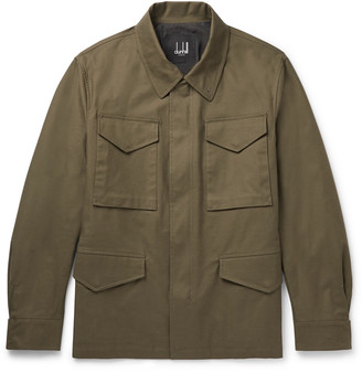 Dunhill Cotton-Blend Gabardine Field Jacket