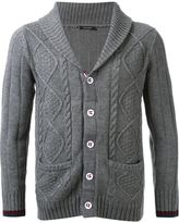 GUILD PRIME cable knit cardigan