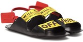 Off-White Off White Zip Tie leather sandals
