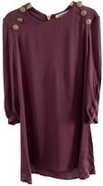 Pierre Balmain Purple Dress for Women