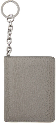 Maison Margiela SSENSE Exclusive Grey Keychain Card Holder