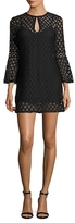 Plenty by Tracy Reese Lace Flounced Shift Dress