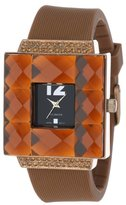Rocawear Women's RL0126BR1-050 Stylish Bracelet Enamel Bezel Watch