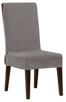 Sure Fit Mason Short Dining Room Chair Slipcover - Grey