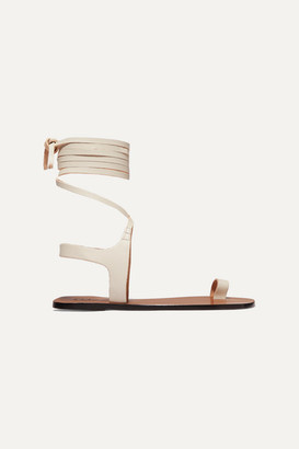Candela Atp Atelier ATP Atelier Leather Sandals - White