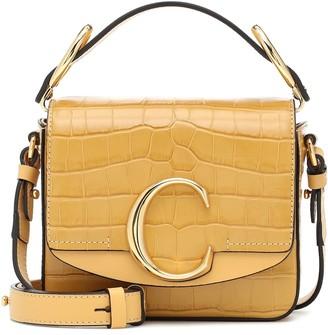 Chloã© ChloA C Mini leather shoulder bag