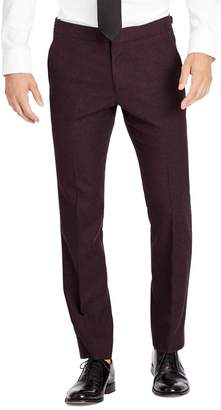 Bonobos Flat Front Wool & Cashmere Tuxedo Trousers