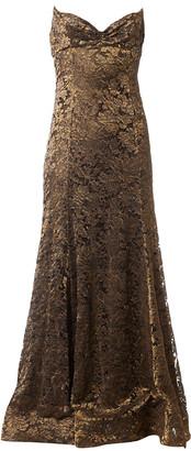 Ralph Lauren Gold Lace Dresses